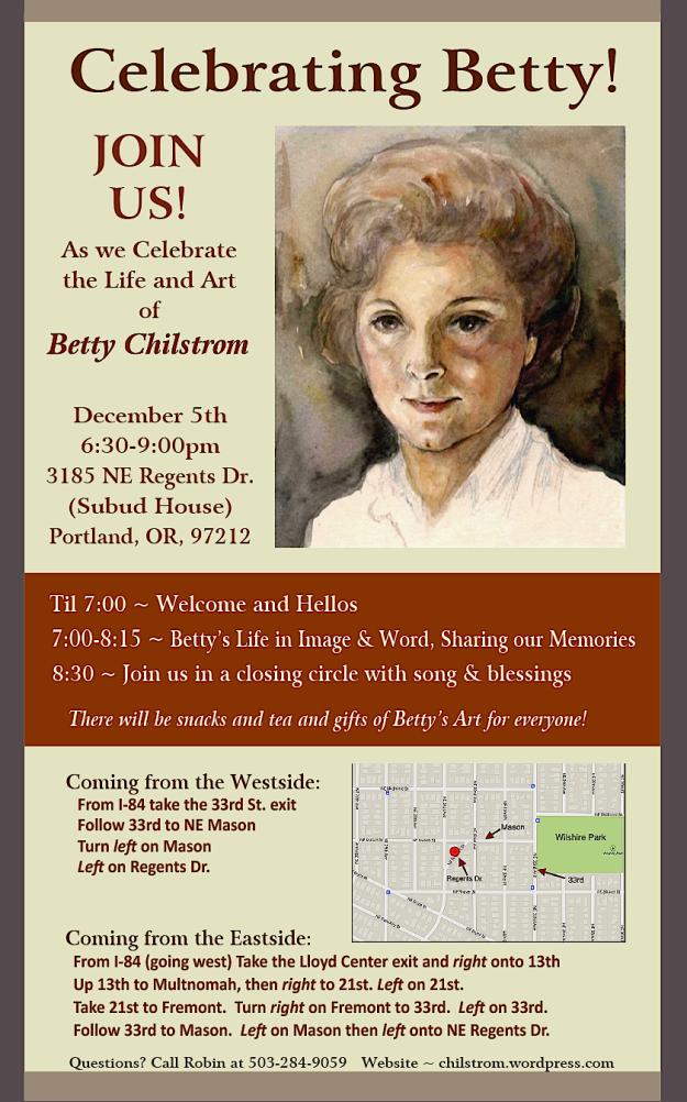Betty Celebration Invitation
