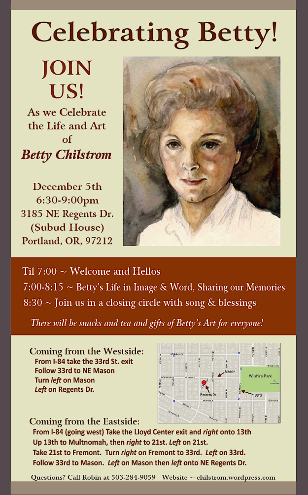 Betty Celebration Invitation