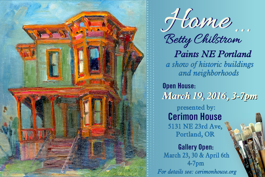 Come to a show of Betty's work!
